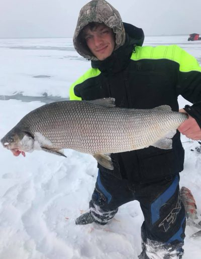 Catching Massive Whitefish Outdoor Junkys Guide Services