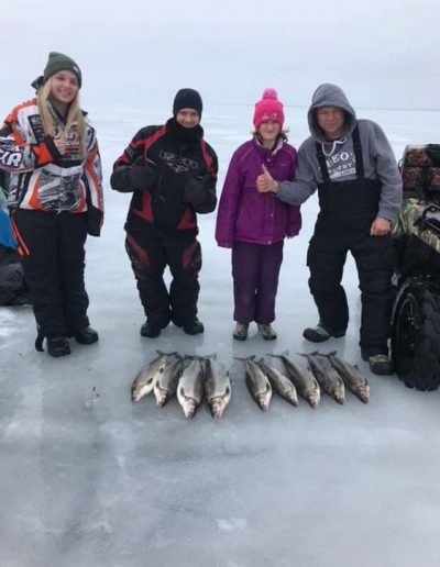 Lake Simcoe Lake Trout and Whitefish Ice Fishing Trips Outdoor Junkys Guide Services